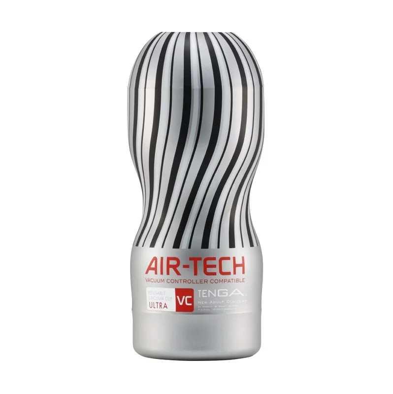 TENGA AIR-TECH 重複性真空杯飛機杯 控制器兼容版_VC銀灰/極大款