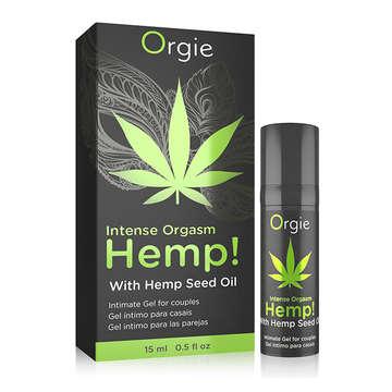 【刺激度爆表】葡萄牙Orgie-大麻籽油 刺激跳動高潮凝膠 15ml