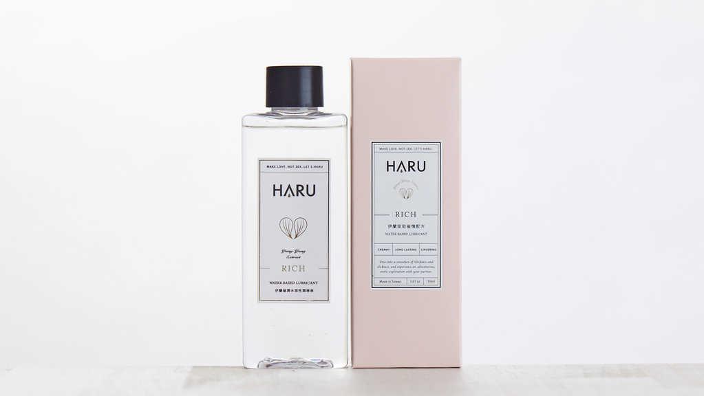 HARU 居家瓶 RICH伊蘭極潤濃郁潤滑液