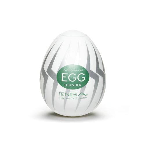 【爽到像被電到】TENGA EGG-007 挺趣蛋〈閃電型〉