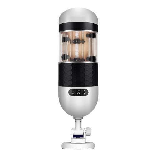 伸縮情人3-氣囊緊縮+活塞式快速抽插吸盤自慰杯